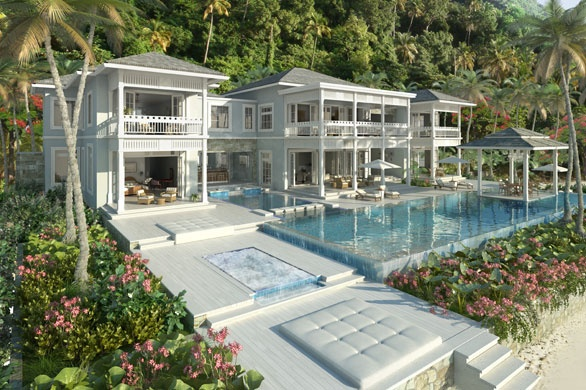 The Residences at Sugar Beach. Sugar Beach. Saint Lucia, West Indies