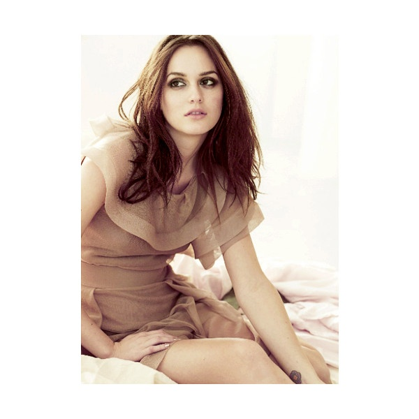 Fuck Yeah Leighton Meester! ❤ liked on Polyvore