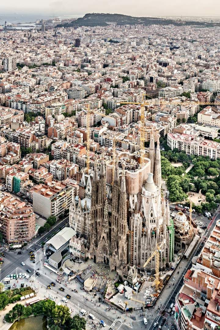 Barcelona, Spain: Celebrating a beloved architect all year. / #29 on @nytimes's list of 52 Places to Go in 2016 (Photo: Pep Daudé/Basílica de la Sagrada Família)
