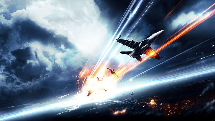 video games clouds war battle fire dice ammunition artwork Battlefield 3 skyscapes jets - Wallpaper (#1429082) / Wallbase.cc