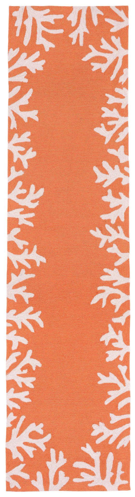 best  coral rug ideas on pinterest  coastal inspired rugs  - capri  coral border coral rug