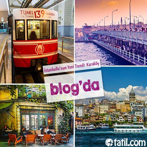 Tünel'in dünyanın en eski 2. yeraltı toplu taşıma sistemi olduğunu biliyor muydunuz?  Karaköy'ün tüm detayları blog yazımızda! http://blog.tatil.com/istanbullunun-yeni-trendi-karakoy/