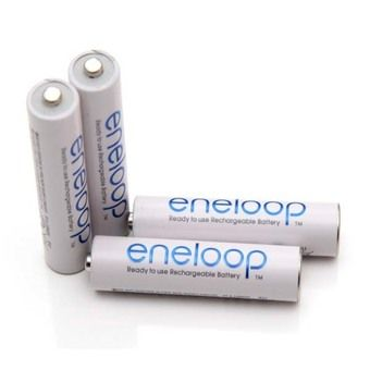 Buy Sanyo - Eneloop Rechargeable AAA Batteries, HR-4UTGB4TM online at Lazada Singapore. Discount prices and promotional sale on all Batteries. Free Shipping.