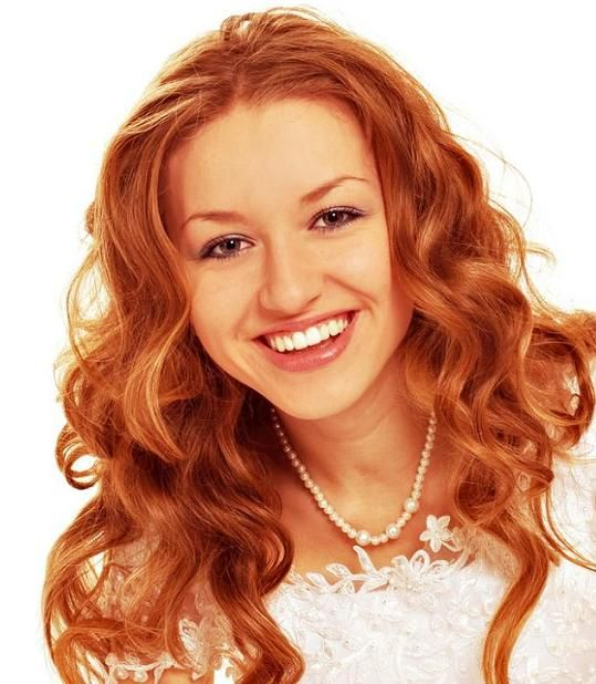 Ginger Hair Color | ... Style in Red with Blonde Highlights Hair Color | wasabifashioncult.com