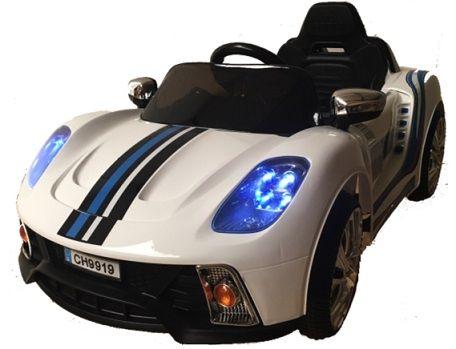 GT DEPORTIVO 12V MANDO RC, BLANCO, IndalChess.com Tienda de juguetes online y juegos de jardin