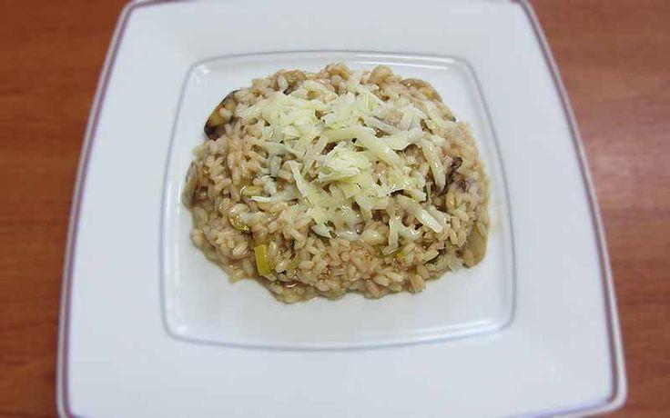 Ριζότο με μανιτάρια - Οι συνταγές της Άννας