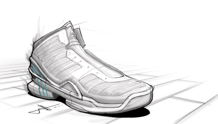 Random Footwear Sketches by Mathew Drazic at Coroflot.com