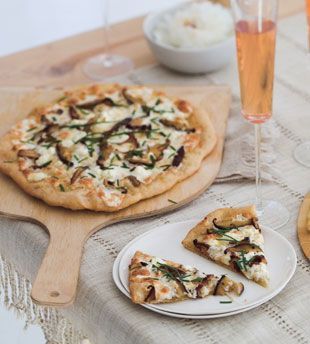 Goat cheese, Goats and Pizza on Pinterest