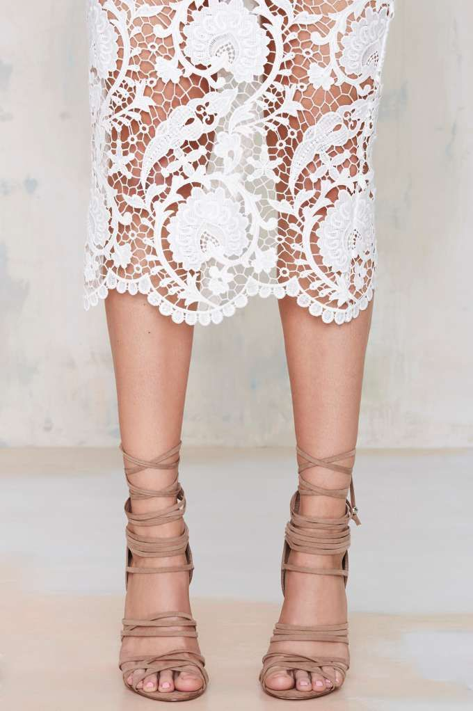 suede + lace