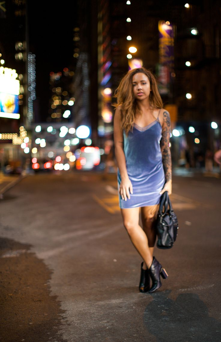 A Style Diary by Samantha Maria : BLUE VELVET ON 16TH ST.