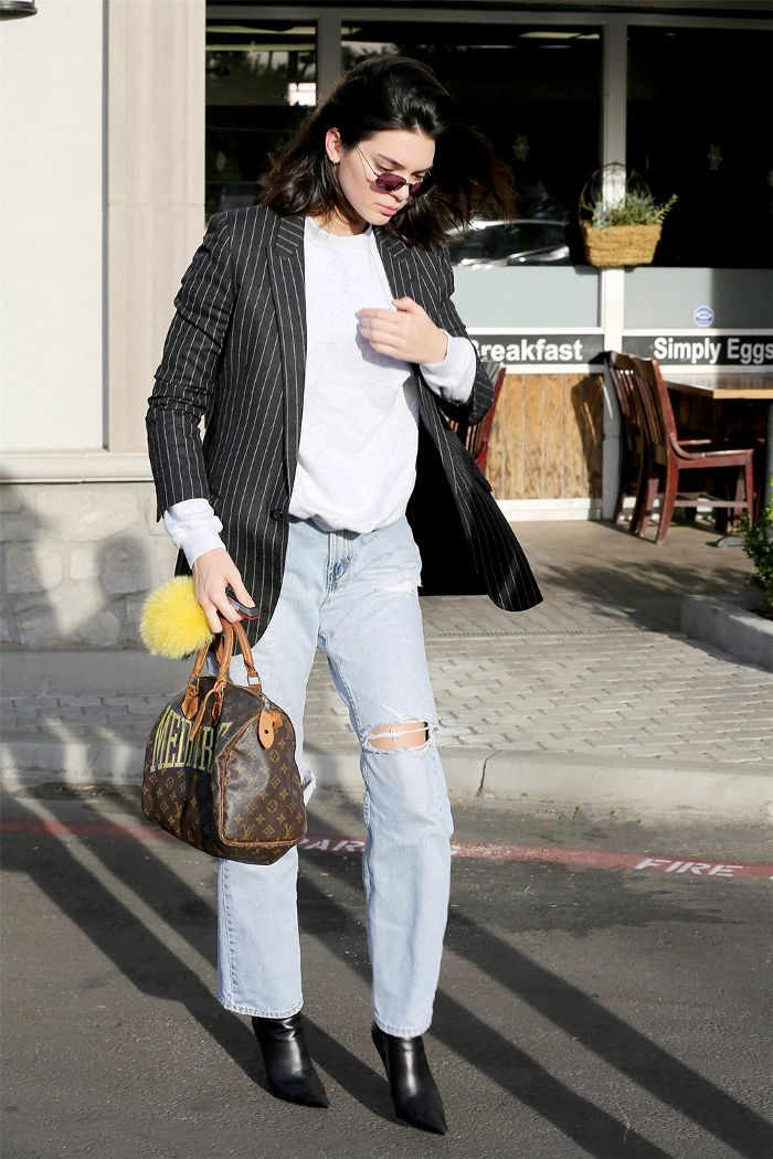 best authentic bc0e7 abb2f Kendall Jenner has been closing out the year with some very enviable outfits.  Find out which three youll want to copy first in 2018 here.