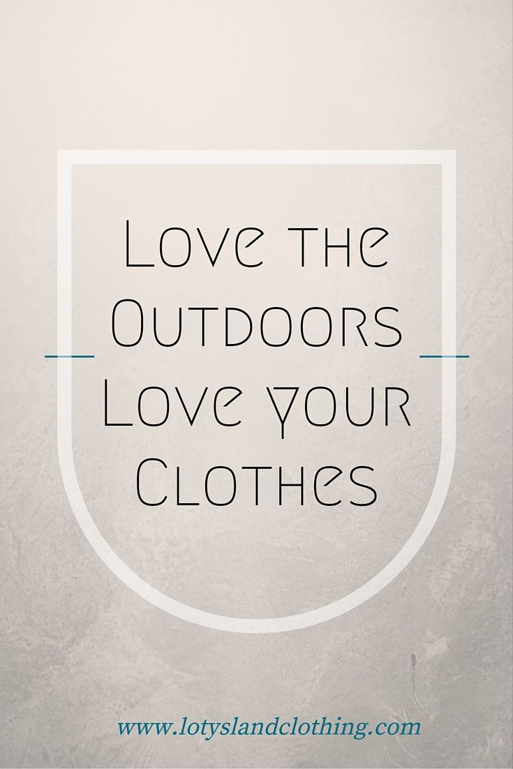 Love the outdoors. Love your clothes. Greenhouse gasses are believed to be the culprit of global warming, why is the oil-and-gas industry receiving 75 times more money than the renewable energy industry? It is time to make a change and rely more on this clean form of energy. That is why 10% of our net profit is donated to Nature Conservancy. Remember, we can all make a difference.  Shop now:  www.lotyslandclothing.com
