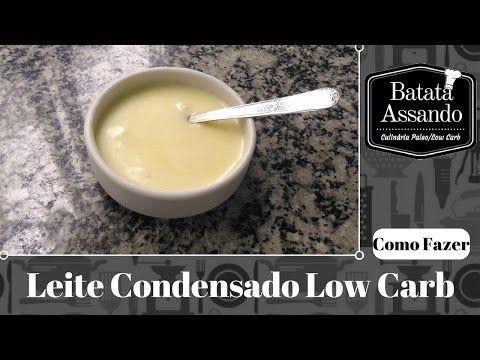 Sobremesa Low Carb: O Danette mais fácil do Mundo! - YouTube
