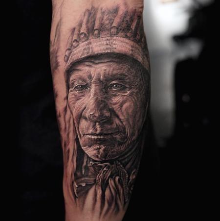 Stefano Alcantara - Indian Chief   Inked and Proud ...