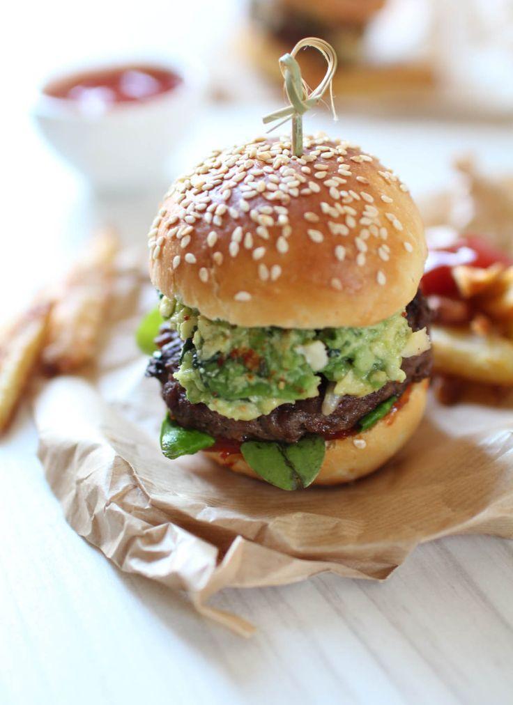 recette burger maison avocat