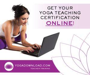 Get your yoga certification online.