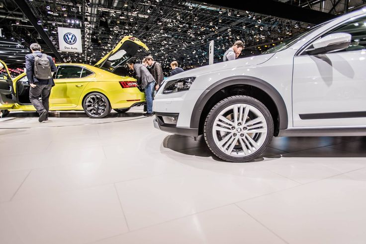 Distinctive visual features are powerful front and rear bumpers and all-round plastic mouldings --> http://www.skoda-auto.com/en/models/octavia-scout/ #octaviascout #octavia #skoda #genevamotorshow