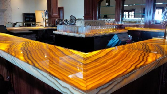 Backlit Onyx Countertops - Page