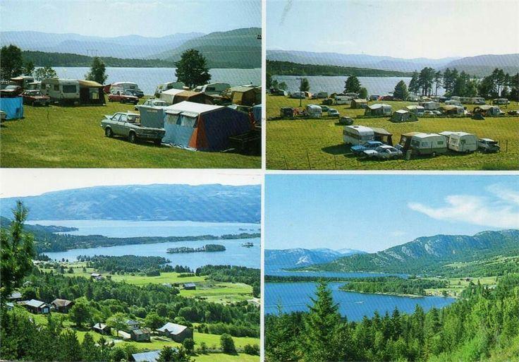 Telemark fylke Nissedal kommune Vik camping 1970-tallet