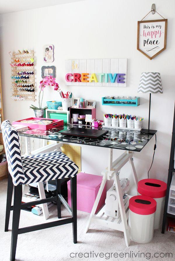 1000 ideas about work office organization on pinterest work desk decor desk organization and. Black Bedroom Furniture Sets. Home Design Ideas