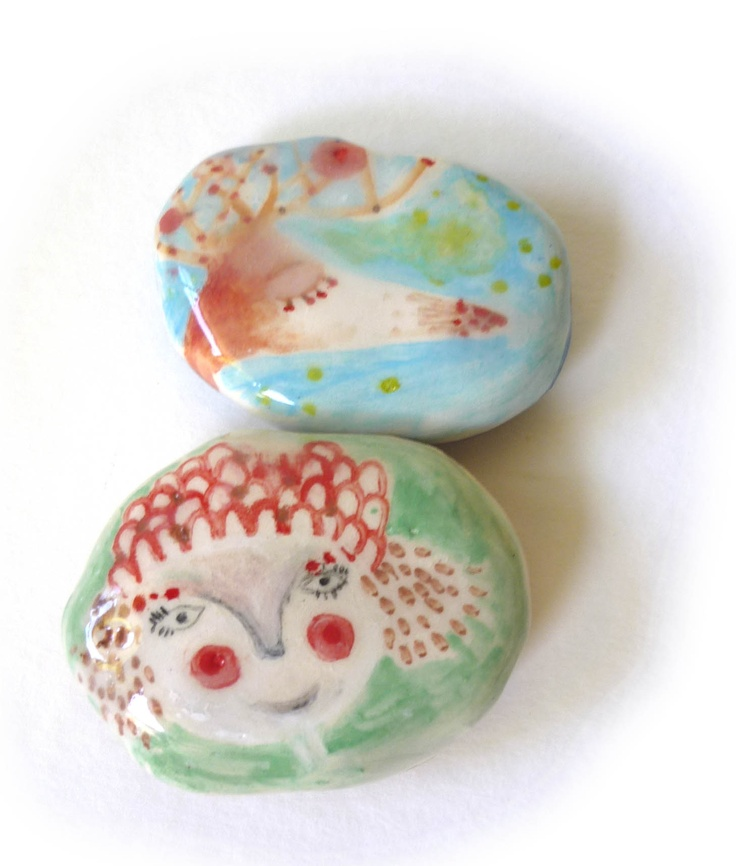 litlle stones   www.ceramicailustrada.blogspot.com