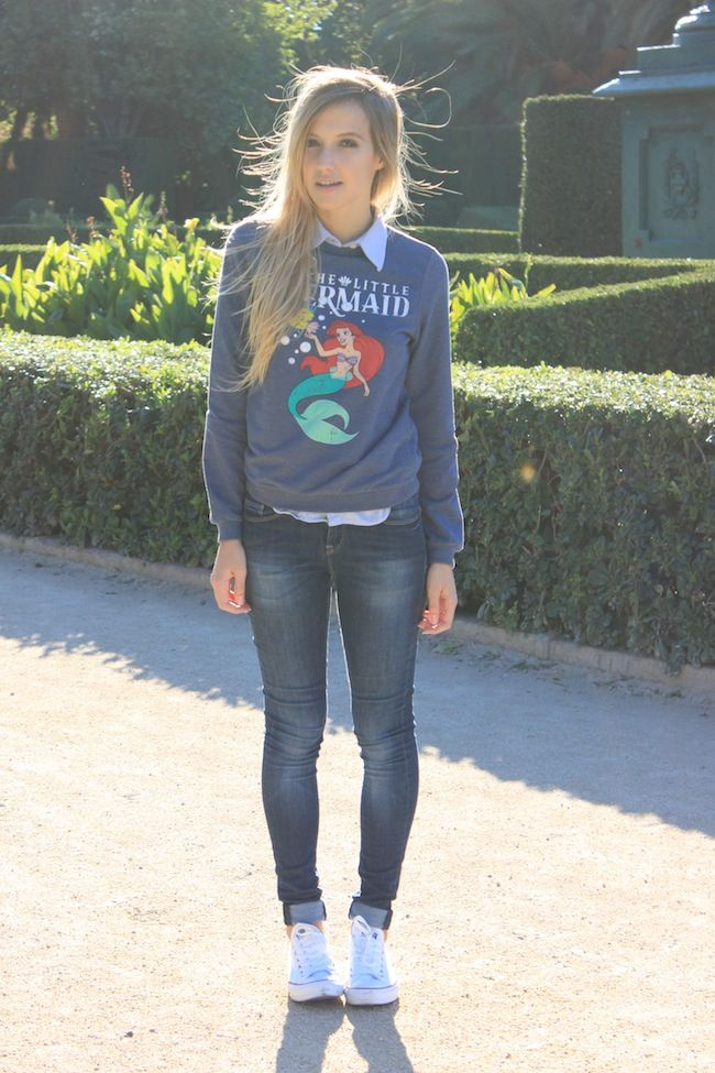 Sweatshirt Amp Jeans Girls Spring Fashion Casual Outfits