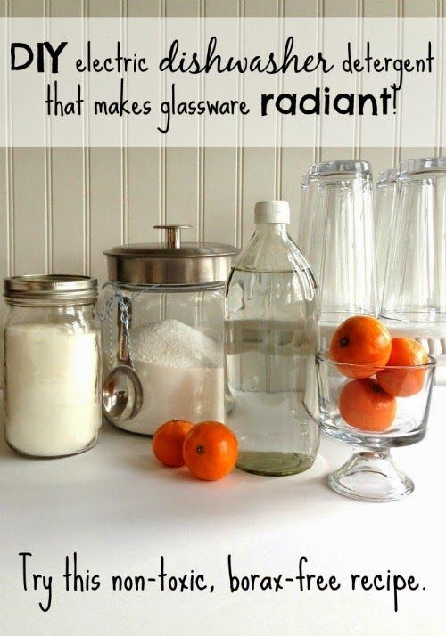 Farm Girl Inspirations: Homemade DISHWASHER DETERGENT that works like a charm! (Non-toxic, Borax-free recipe).