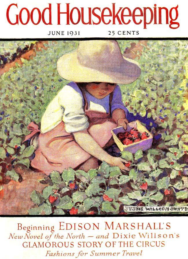 "Jessie Wilcox Smith (1863-1935), ""Good Housekeeping, June 1931"""
