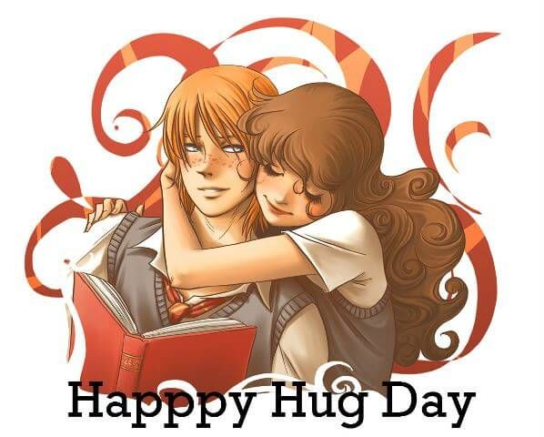 Romantic Hug Lovers HD Wallpaper