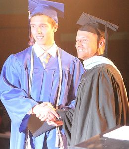 Description of . Lincoln Park High School held its 2015 graduation on Wednesday, June 3, 2015 at the school. Photo by Ricky Lindsay