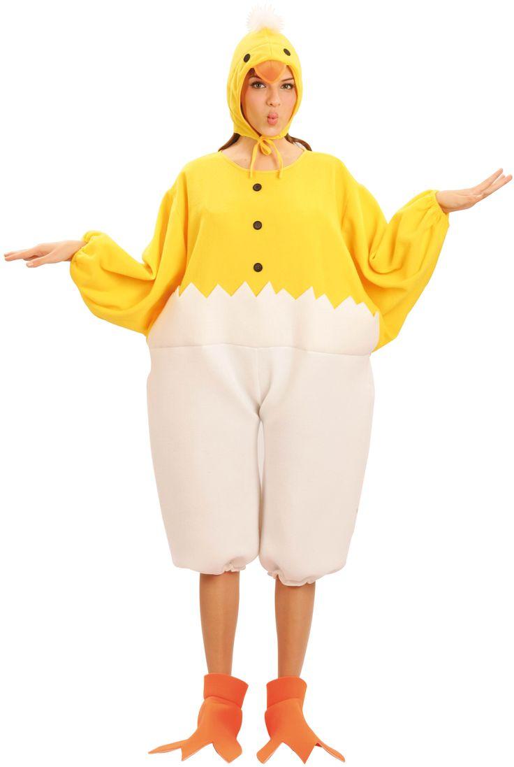 Kuiken kostuum voor volwassenen : Vegaoo Volwassenen Kostuums