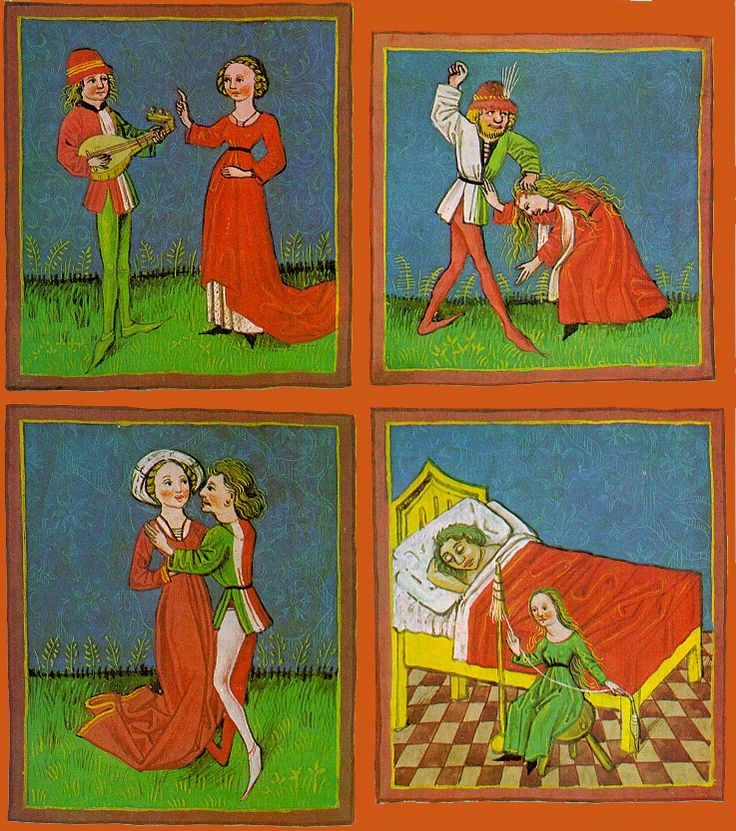 The five temperaments or humors?