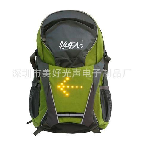 YUANMINGSHI Cycling 18L LED Reflective Safety Backpack
