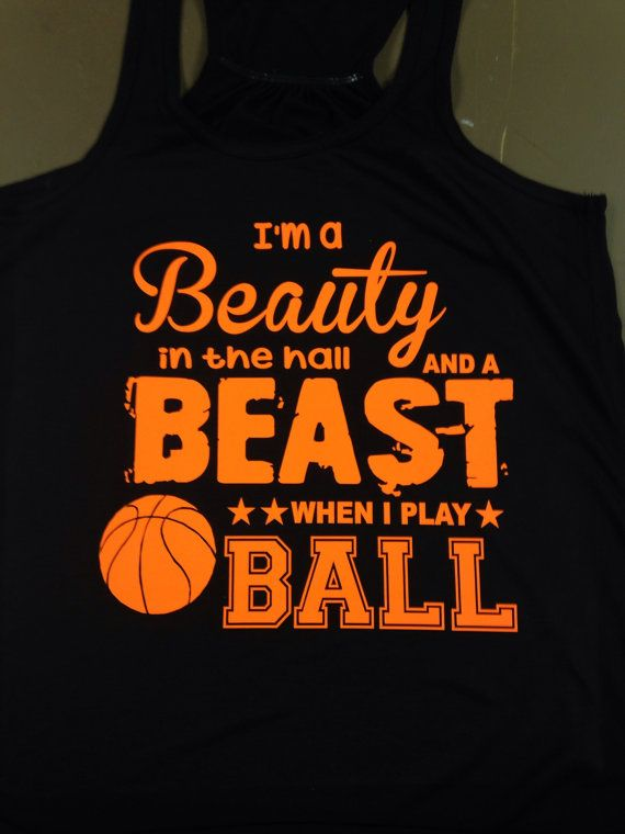 Basketball tank beast when i play ball by HeresYourSignnShirt, $19.99