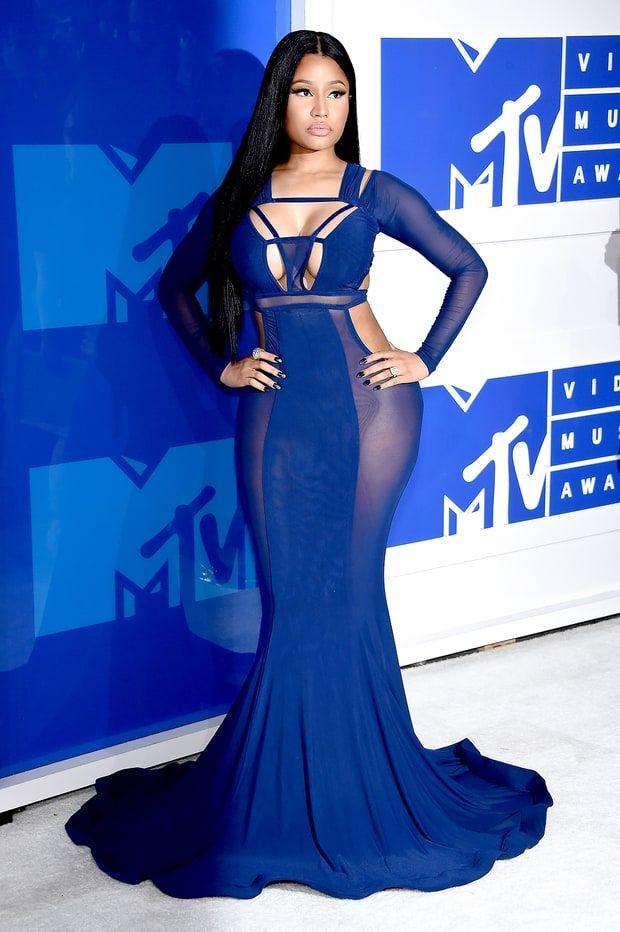 Nicki Minaj in Bao Tranchi at VMAs 2016