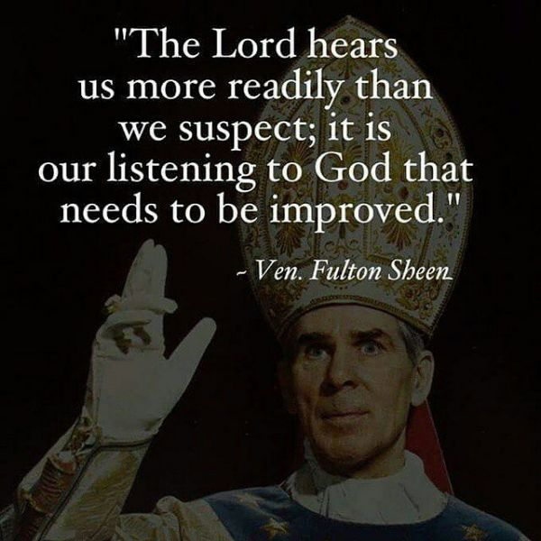 Archbishop Fulton Sheen | Awestruck Catholic Social Network