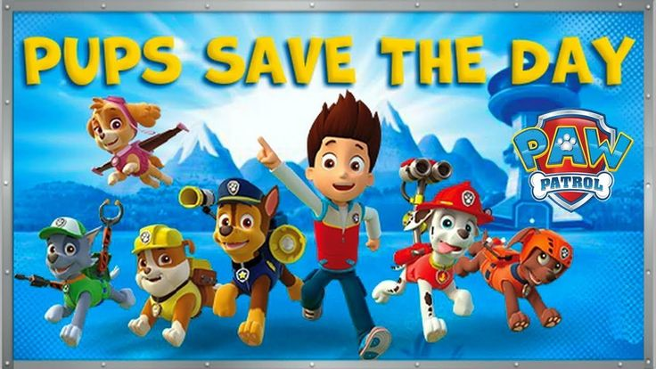 PAW Patrol Pups Save The Day - Fun Games For Kids
