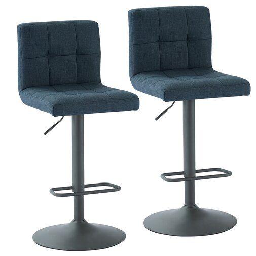 Fabulous Faustina Adjustable Height Swivel Bar Stool Kitchen In Ncnpc Chair Design For Home Ncnpcorg