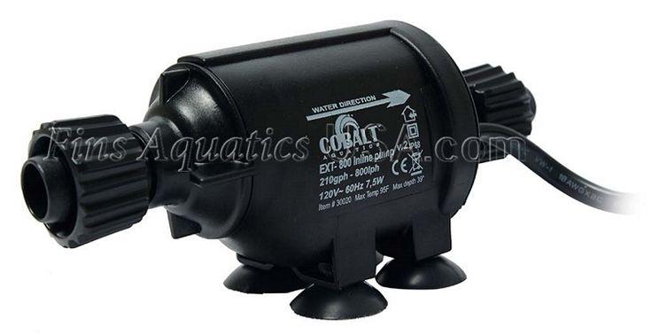Cobalt Aquatics E-X-T 800 Inline Water Pump
