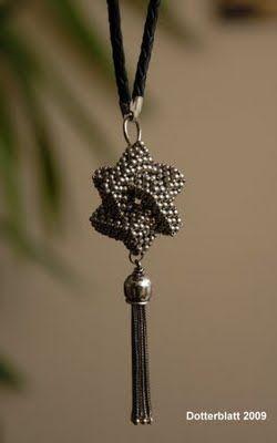 beadwork pendant
