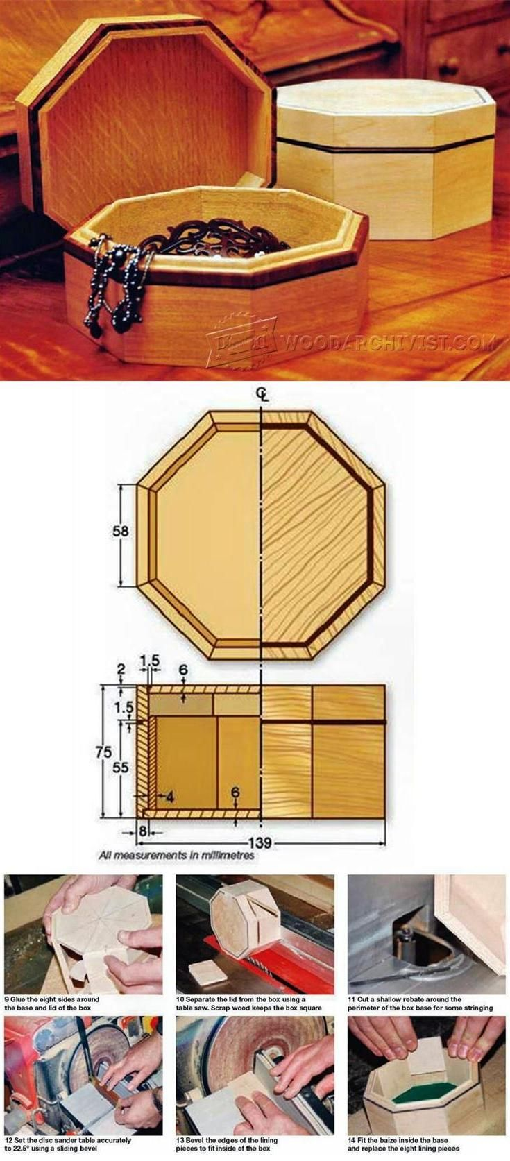 Wooden crib for sale las pinas - Octagonal Box Plan Woodworking Plans And Projects Woodarchivist Com