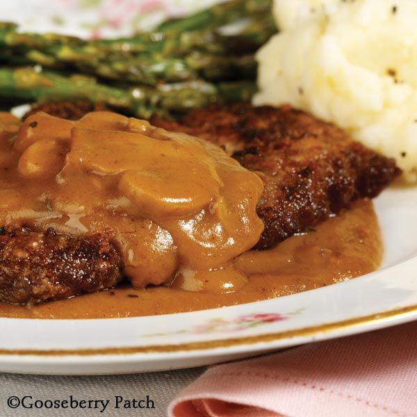Gooseberry Patch Recipes: Baked Steak with Gravy. A tried & true recipe!