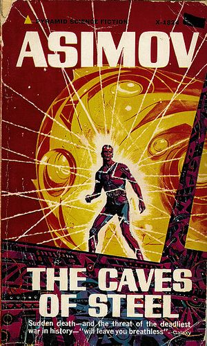 Isaac Asimov - The Caves Of Steel. First in his robot series.