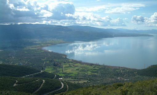 VISIT GREECE| Lake Trihonida, Aetolia, Western #Greece photo ©Nikolaos Kostakopoulos