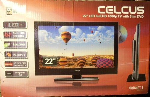 Celcus LED22S913 DVD FHD Televízió