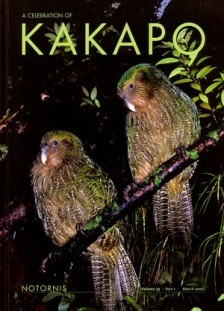 The Kakapo Parrot of New Zealand, Strigops habroptilus also called owl parrots are large, flightless, nocturnal, ground dwelling parrots that live in New Zealand. It is the world's only flightless parrot, the heaviest parrot, nocturnal, herbivorous, visibly sexually dimorphic in body size, has a low basal metabolic rate, no male parental care, and is the only parrot to have a polygynous lek breeding system. It is also possibly one of the world's longest-living birds & too heavy to fly