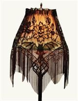 8 best lamp shade covers images on pinterest lamp shades slip cover for lamp shade gothic lamp shade slipcover halloween witches and mozeypictures Gallery