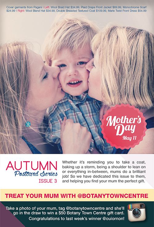 Treat your mum this Mother's Day