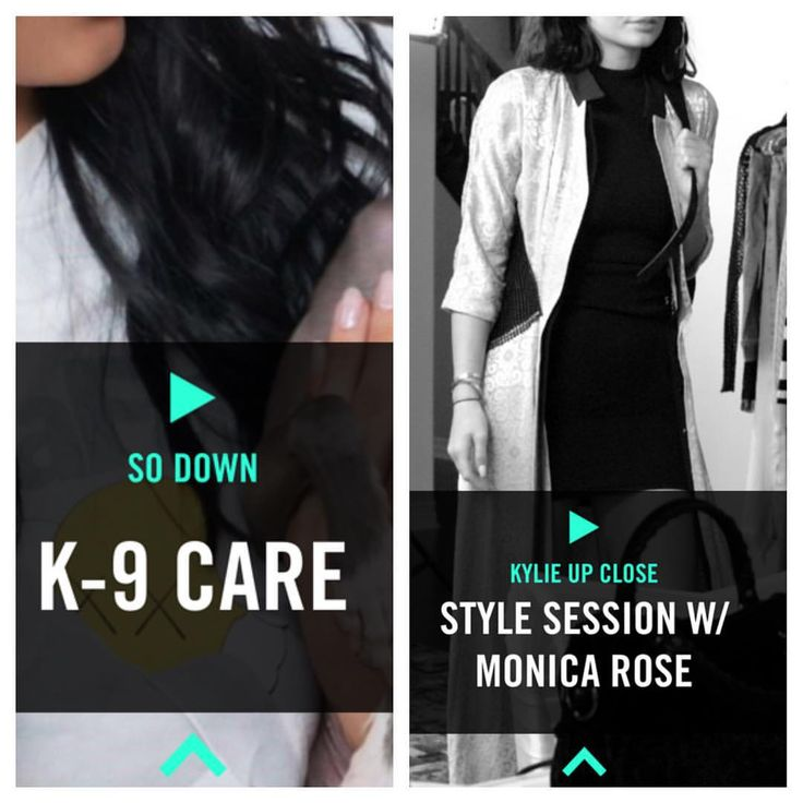 @kyliejenner: Two new videos up on TheKylieJenner.com and the Official Kylie Jenner app! Video on how I care for my puppies and an inside look on how my fittings go with @monicarosestyle