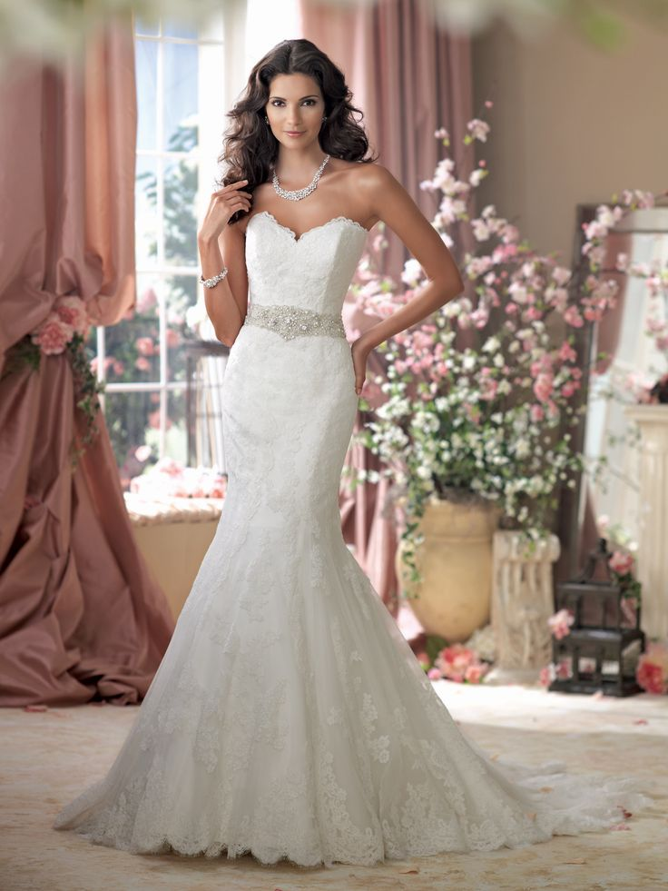 28 best David Tutera for Mon Cheri Spring 2014 Collection images on ...